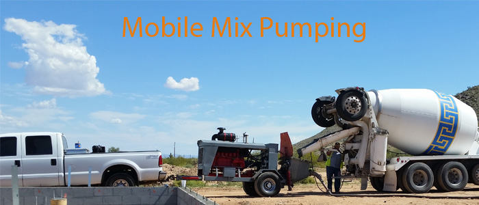 Mobile Mix AZ - Pumping services